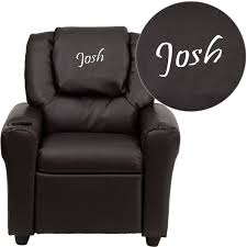 flash furniture dg ult kid brn gg contemporary brown vinyl kids