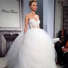 Princess Style Wedding Dresses Bridal Fashion Week Gave Us A Glimpse Of The 2014 Wedding Dresses