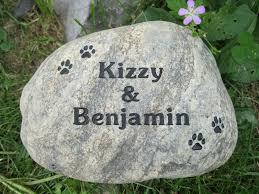 memorial stones for dogs river rock pet memorial stones adirondack works pet memorials