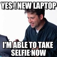 Laptop Meme - yes new laptop net noob meme on memegen
