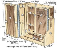 Dvd Shelf Woodworking Plans by Woodshop Storage Cabinet Plans Why Buy Detailed Gun Cabinet Plans