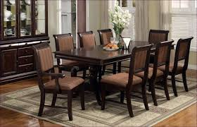 Kitchen Table And Chairs With Casters dining room dining chairs with casters dining table and 8 chairs