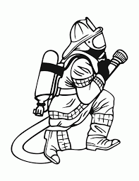 fireman coloring pages kids printable coloring