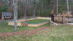 backyard ice rinks wj smallwood landscaping in salem nh
