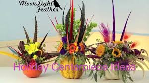 Centerpiece With Feathers by 2015 Feathers And Flowers Centerpiece Youtube