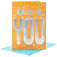 big thanks to you jumbo thank you card 16 greeting cards