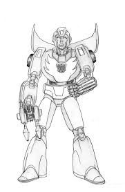 rodimus prime on baby time u2013 gazbot illustration