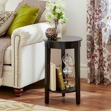 decorations cool end table decors with unique design brown