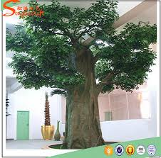 2017 best selling ficbergrass artificial banyan tree outdoor and