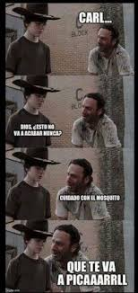 Meme Carl - 9 best viñetas carl rick images on pinterest the walking dead