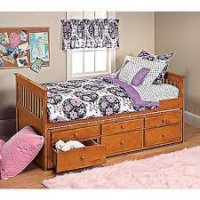 fingerhut mcleland design captain u0027s bed with trundle u0026 storage