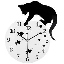 compare prices on cat clocks wall online shopping buy low price