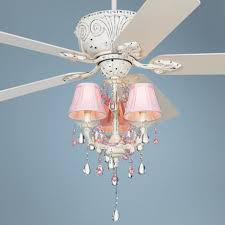 Ceiling Fans With Chandeliers Casa Pretty In Pink Pull Chain Ceiling Fan Ceiling Fans