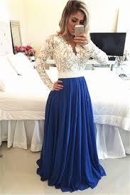 2016 prom dresses gold long sleeves prom dresses blue long