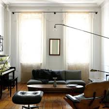 Curtain Crown Molding Curtain Rod Living Room Contemporary With Crown Molding Black
