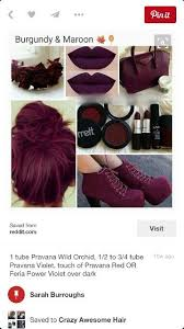 Color For 2016 38 Best 50 Shades Of Burgundy Images On Pinterest Hairstyles