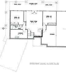 home floor plans with basements lower floor plan of ranch house plan 92395 ranch home plans with