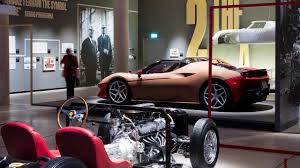 ferrari j50 ferrari under the spotlight at new design museum exhibition