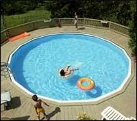 Above Ground Pool Landscaping Ideas Above Ground Pool Landscape Design