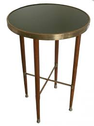 Brass Side Table Oak Brass Side Table 1900s For Sale At Pamono