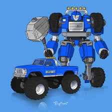 bigfoot monster truck 2014 if they could transform bigfoot by darrenrawlings on deviantart