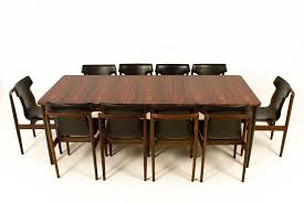 extending dining room tables mid century modern large extendable dining table from fristho