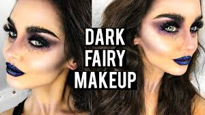 dark evil fairy halloween makeup tutorial katesbeautystation