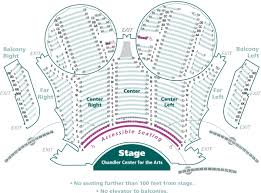 Map Of Chandler Az Mainstage Seating Maps U0026 Photos Chandler Center For The Arts