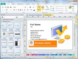 inspiring free business cards design software 27 for office depot
