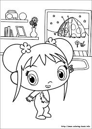 ni hao kai lan coloring pages coloring book