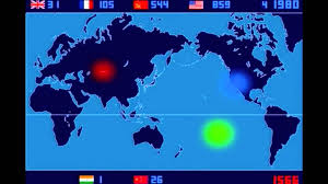 Nuclear Bomb Map A Time Lapse Map Of Every Nuclear Explosion Since 1945 By Isao