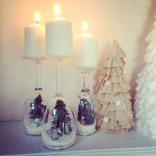 wine glass snow globes wine glass dioramas popsugar smart living