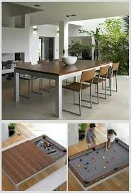 pool table black friday this classy dining table hides a pool table underneath soooo cool