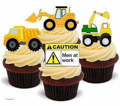 construction cake toppers birthday cakes fresh novelty cake toppers birthdays novelty cake