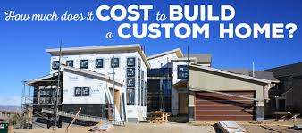 build custom home understanding the cost of building a custom home kga studio