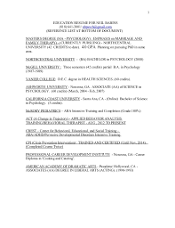 Masters Degree Resume Resumes 2aa