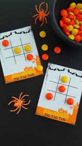 Free Halloween Cards Printable Free Printable Halloween Tic Tac Toe Cards Frugal Mom Eh