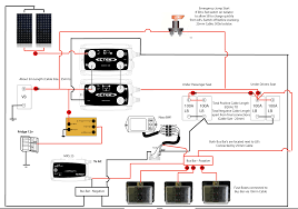solar panel wiring diagram for rv solar panel kit and ideas