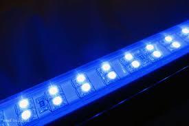 marineland blue accent led hidden lighting strips handled gear