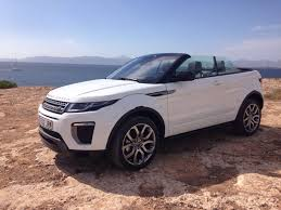 evoque land rover convertible ok rent a car already offers the new range r