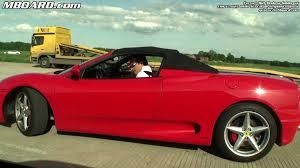 Ferrari 458 Manual - ferrari 360 spider vs ess vt625 bmw m3 coupe 6 speed manual youtube