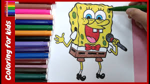 colouring pages for kids how to color spongebob coloring pages