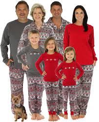 matching family pyjamas nordic style