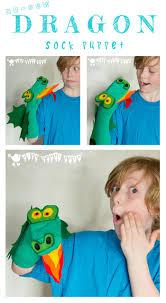 no sew dragon sock puppet free pattern kids craft room