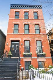 67 best small home exteriors images on pinterest architecture black stairs windows and double doors are accented in the red brick of this beautiful chicago home the bold colors of the architecture shine against the