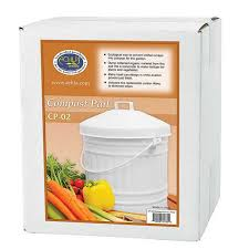 Compost Containers For Kitchen by Kitchen Compost Pail White Enamel