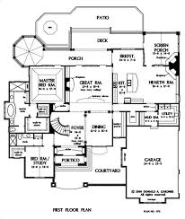 Cottage Floor Plans With Screened Porch 190 Best Blueprints Images On Pinterest Dream House Plans