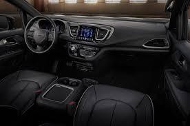 chrysler car interior chrysler 2019 2020 chrysler pacifica s appearance package