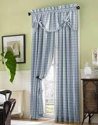 curtains blue window curtains designs window treatments windows