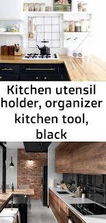 modern kitchen cabinets tools kitchen utensil holder organizer kitchen tool black